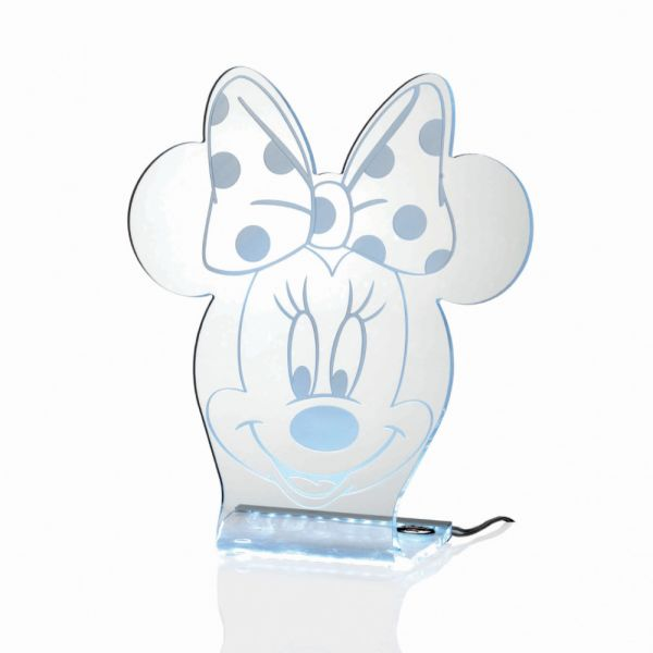 Mida Shop | Minnie - Lampada a Led in plexiglass sagomata
